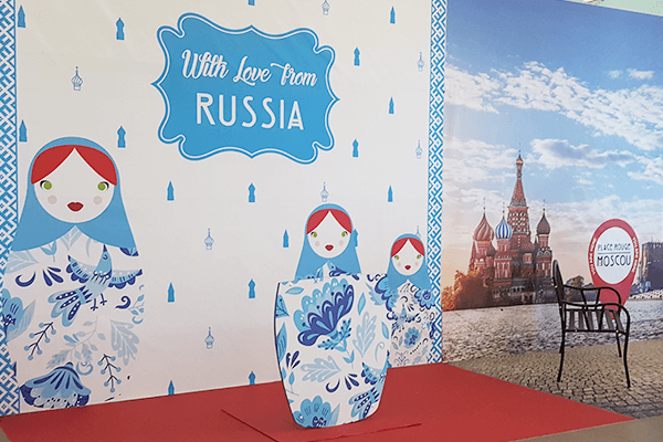 "visuel VINCI – ""Russian Summer"""