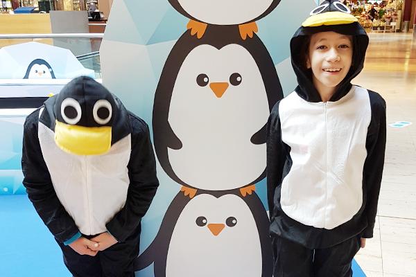 """visuel LA PRAILLE – """"Les pingouins givrés"""""""
