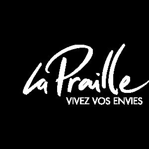 """logo LA PRAILLE – """"Les pingouins givrés"""""""