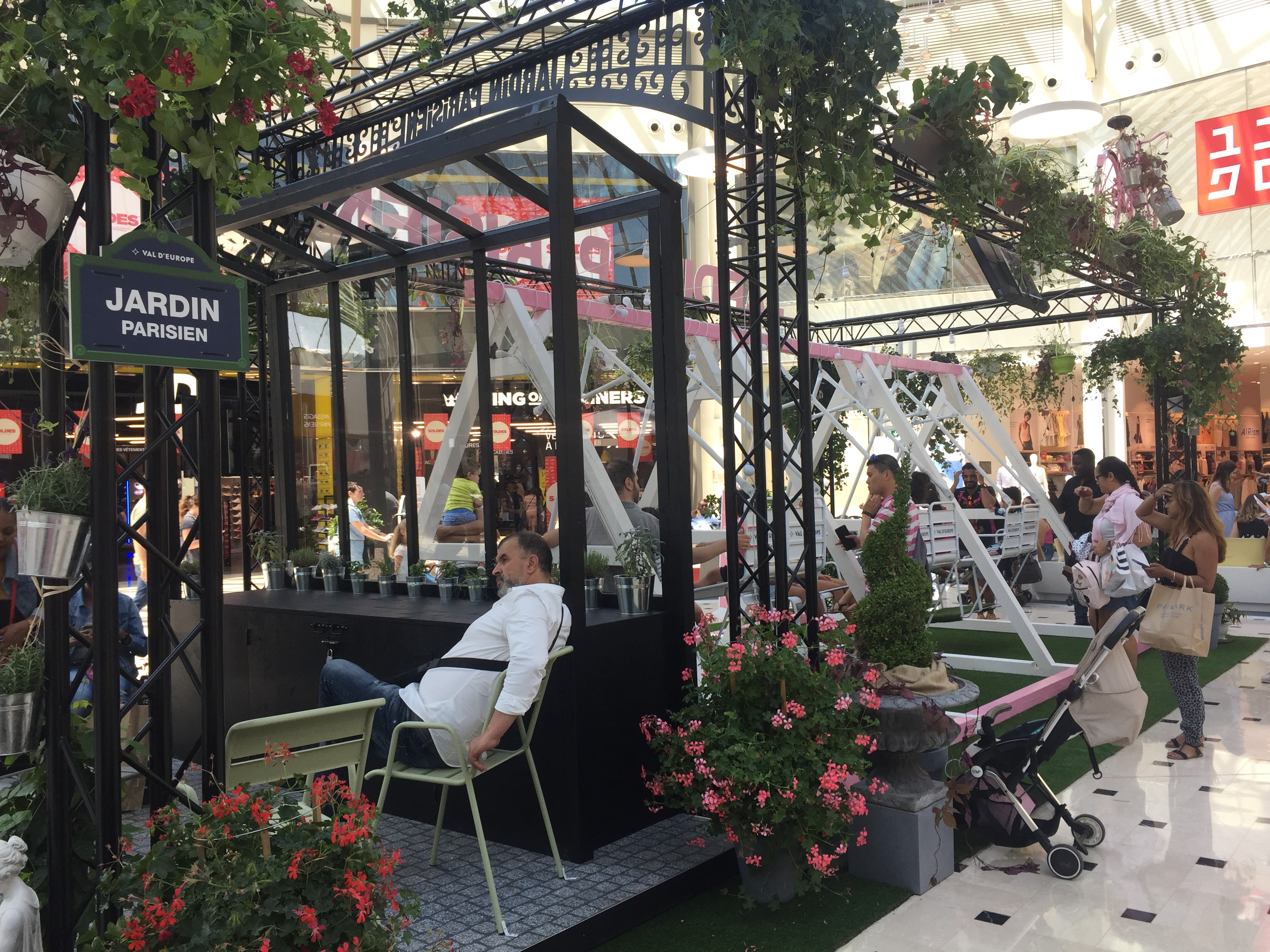 visuel VAL D'EUROPE – Les Jardins Parisiens